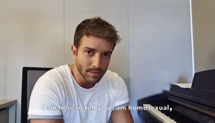 Pablo Alborán confiesa ser homosexual