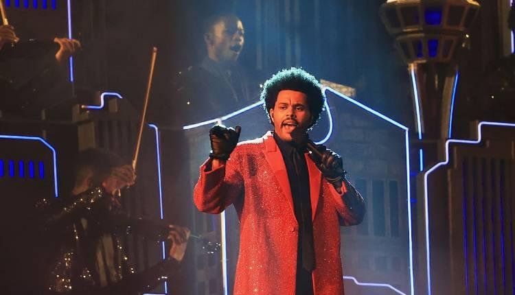 Actuación de The Weeknd