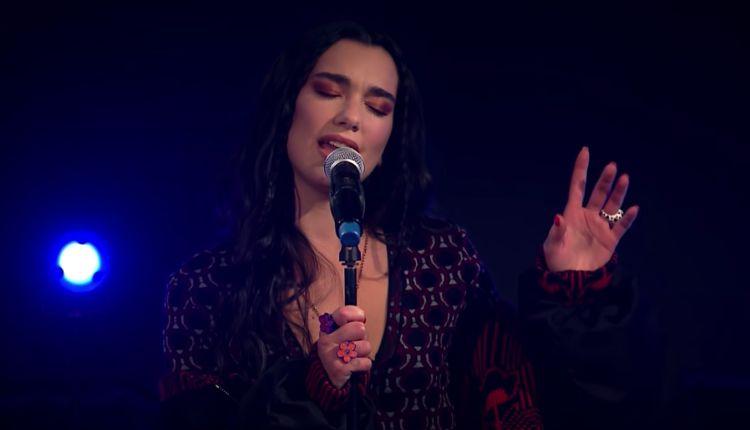 Actuación de Dua LIpa en BBC Radio 1