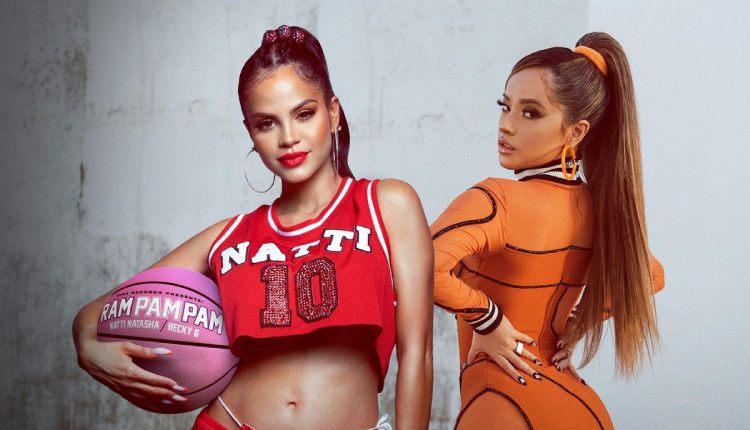 Natti Natasha y Becky G vuelven a trabajar juntas en el single 'Ram Pam Pam'  — Álvaro